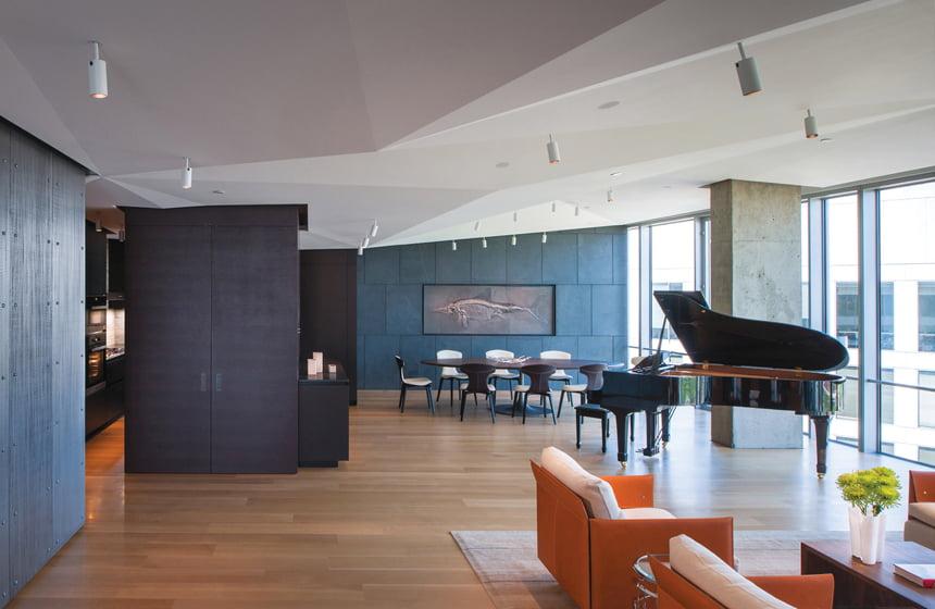 AWARD OF MERIT: Robert M. Gurney, FAIA, Architect, Waterview Condominium, Arlington, Virginia. © Maxwell MacKenzie