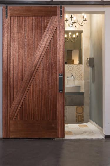 Simpson Door Company's interior barn door.