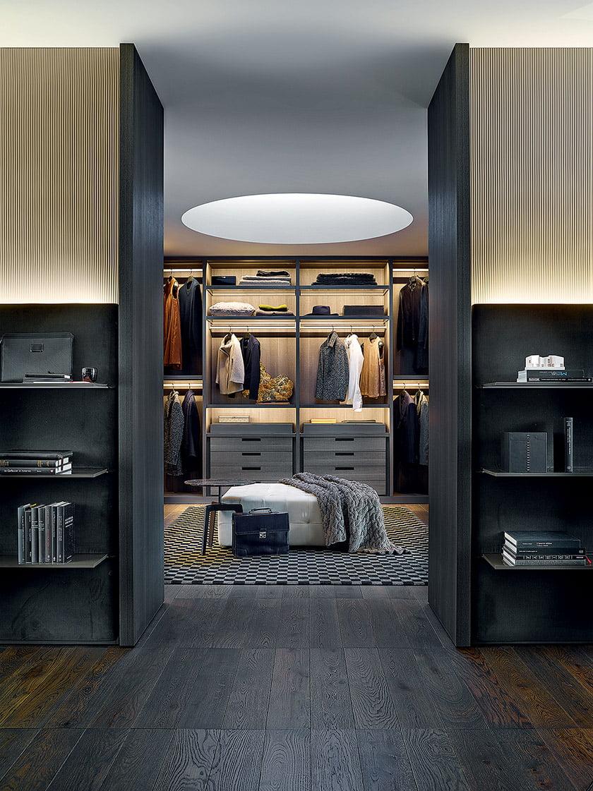 Custom Closets: Poliform | sagartstudio