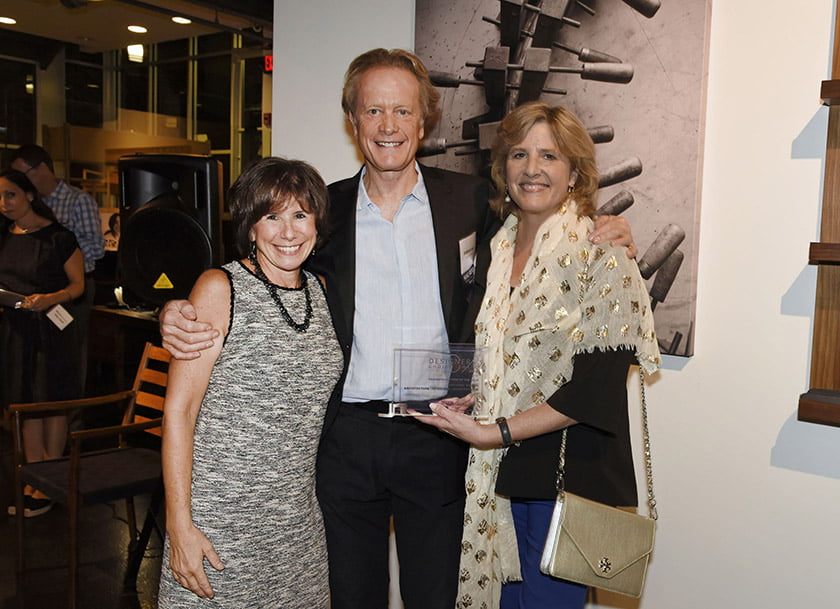 Idea Book editor Julie Sanders (left), Anthony Wilder and Edith Graves.
