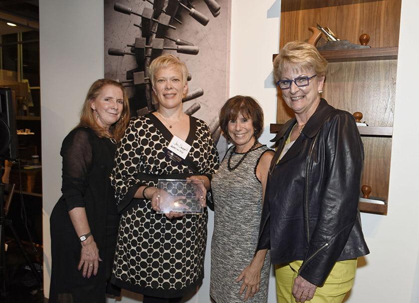 Left to right: Debbie Murphy, Jen Chappell, Idea Book editor Julie Sanders.