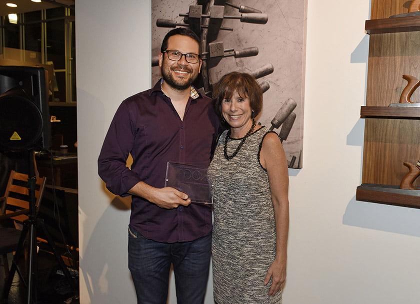 Derek Goldstein, Idea Book editor Julie Sanders.