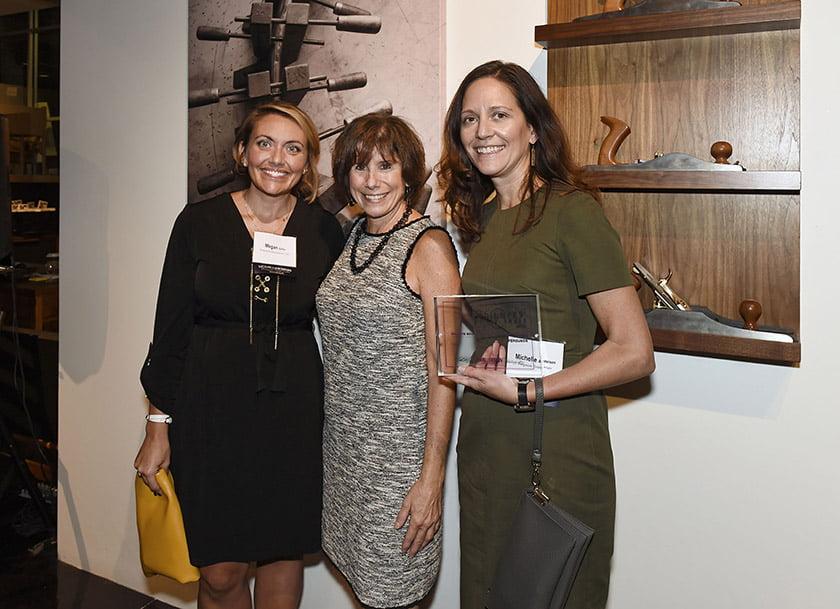 Left to right: Megan Gilles, Idea Book editor Julie Sanders, Michelle Anderson.