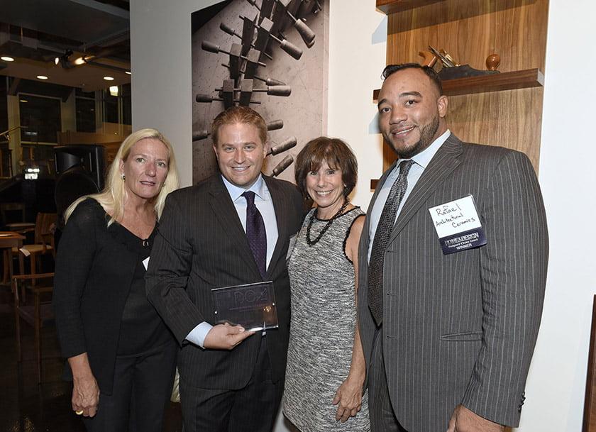 Left to right: Jen Scalia, David Benson, Idea Book editor Julie Sanders, Rafael Rosso.