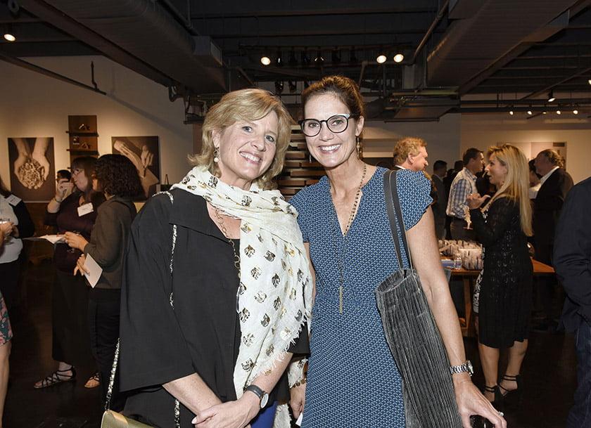 Edith Graves (left), Selena Weaver.