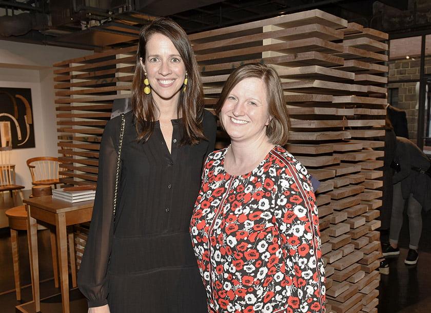 Erica Burns (left), Tara Lowe.