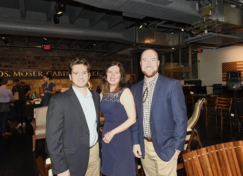 Left to right: Tom Jacobi, Dana Brown, Andrew Ross.