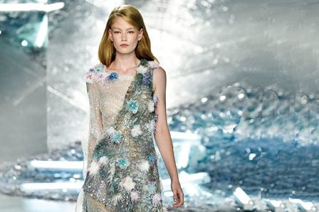 An ethereal gown from the 2015 Spring/Summer runway show.