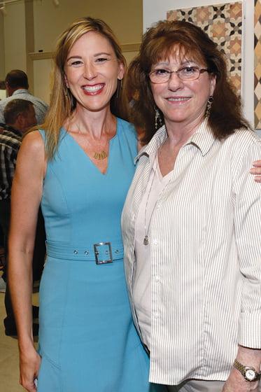 Sarah Armstrong, Peggy Golden.