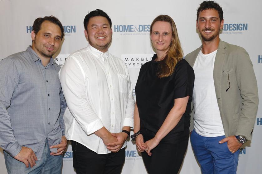 Andres Pinto, Kevin Chee, Julia Walter, Cristian Bellucci.