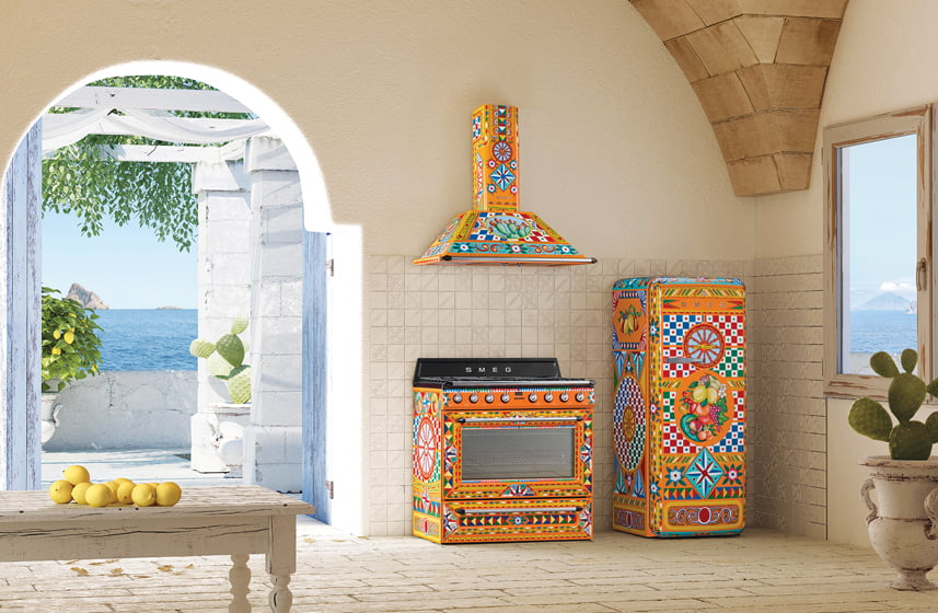 The Sicily is my Love appliance collection.