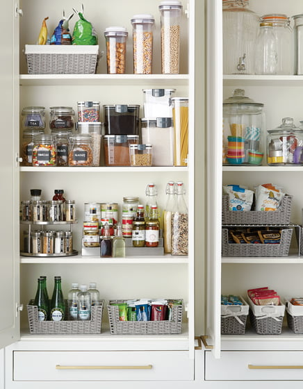 The Container Store's Pantry Organization Starter Kit.
