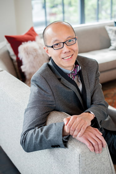 Designer and architect Charles Almonte.