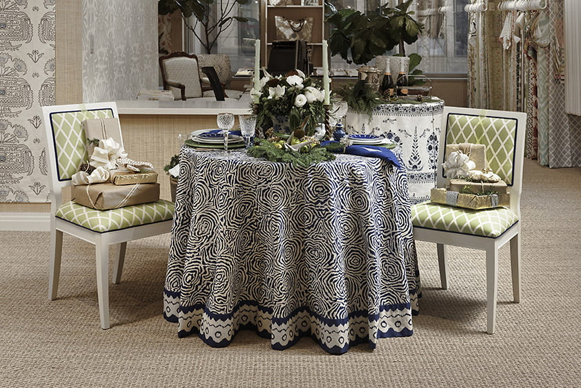 Quadrille - Table design by Kelley Proxmire