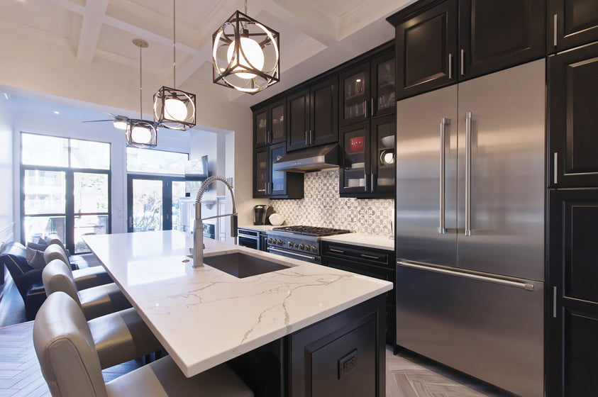Bolton Hill Kitchen by ADR Builders won an Award of Excellence for Kitchen Remodel/Addition over $300,000. Photo: Bret Stokes