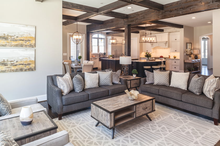 Mueller Homes' Manor at Holly Hills received an Award of Excellence for Custom Home: $1 million- $1.25 million. Photo: Curtis Martin