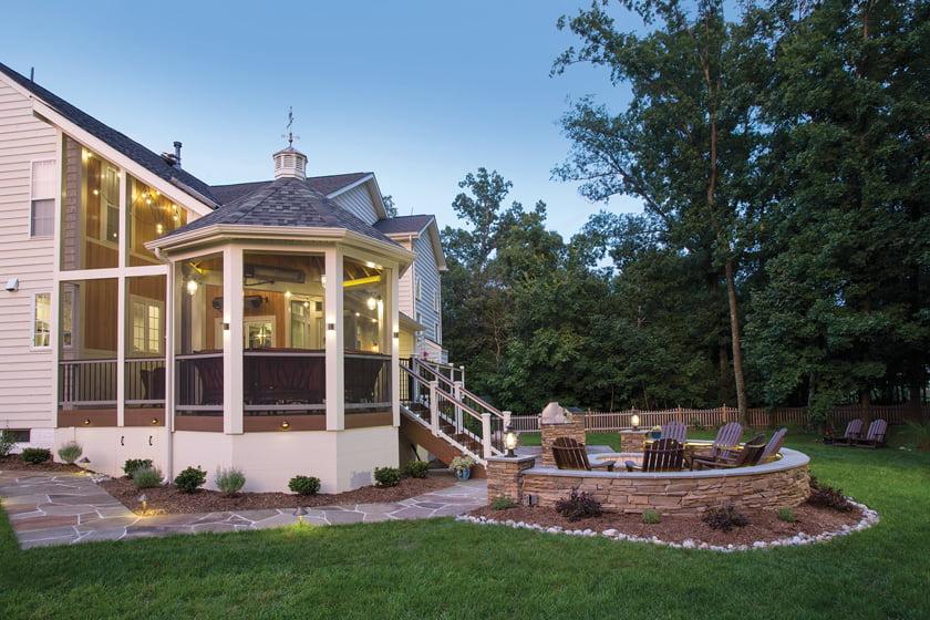 Schroeder Design/Build, Inc.: Grand Award for Residential Exterior $100,000 to $200,000. Photo: Greg Hadley.