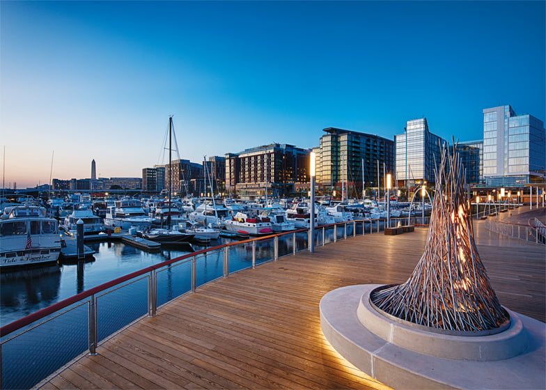 The first phase of District Wharf—a mile-long mixed-use development on the Potomac—debuted in 2017.