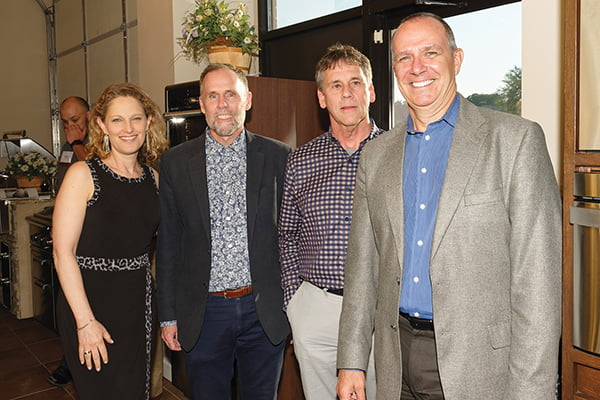 Editor in Chief Sharon Jaffe Dan, Mark Sanders, Mike Campbell, Jeff Penza.