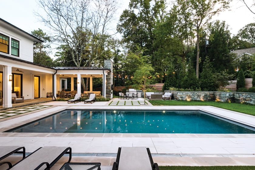 Custom Home 5,000 to 7,500 square feet: Sandy Spring Builders' Glenbrook Road. © Michael Kress