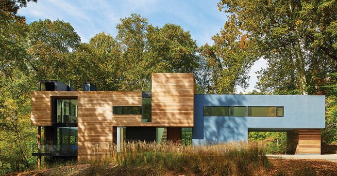 AWARD OF EXCELLENCE: Robert M. Gurney, FAIA, Architect, Mohican Hills House. © Anice Hoachlander