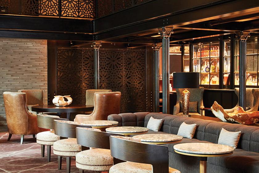 INTERIOR DESIGN: Patrick Sutton's Sagamore Pendry Hotel. © Roger Davies