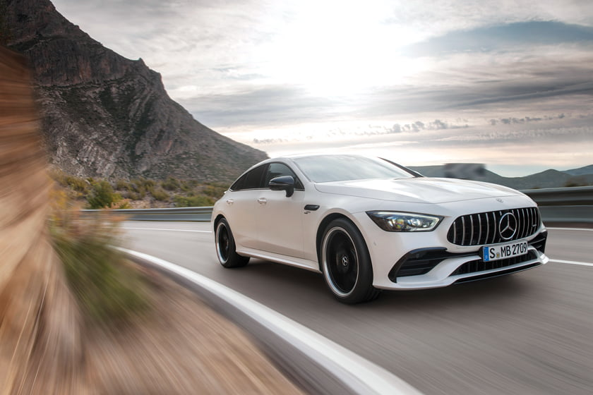 The GT 53 Coupe from Mercedes.