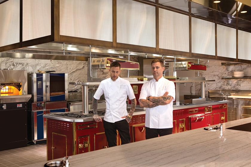 Chefs—and celebrated