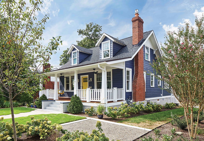 Winn Design+Build marries clean lines and vintage charm in a 1925 Arlington bungalow redo.
