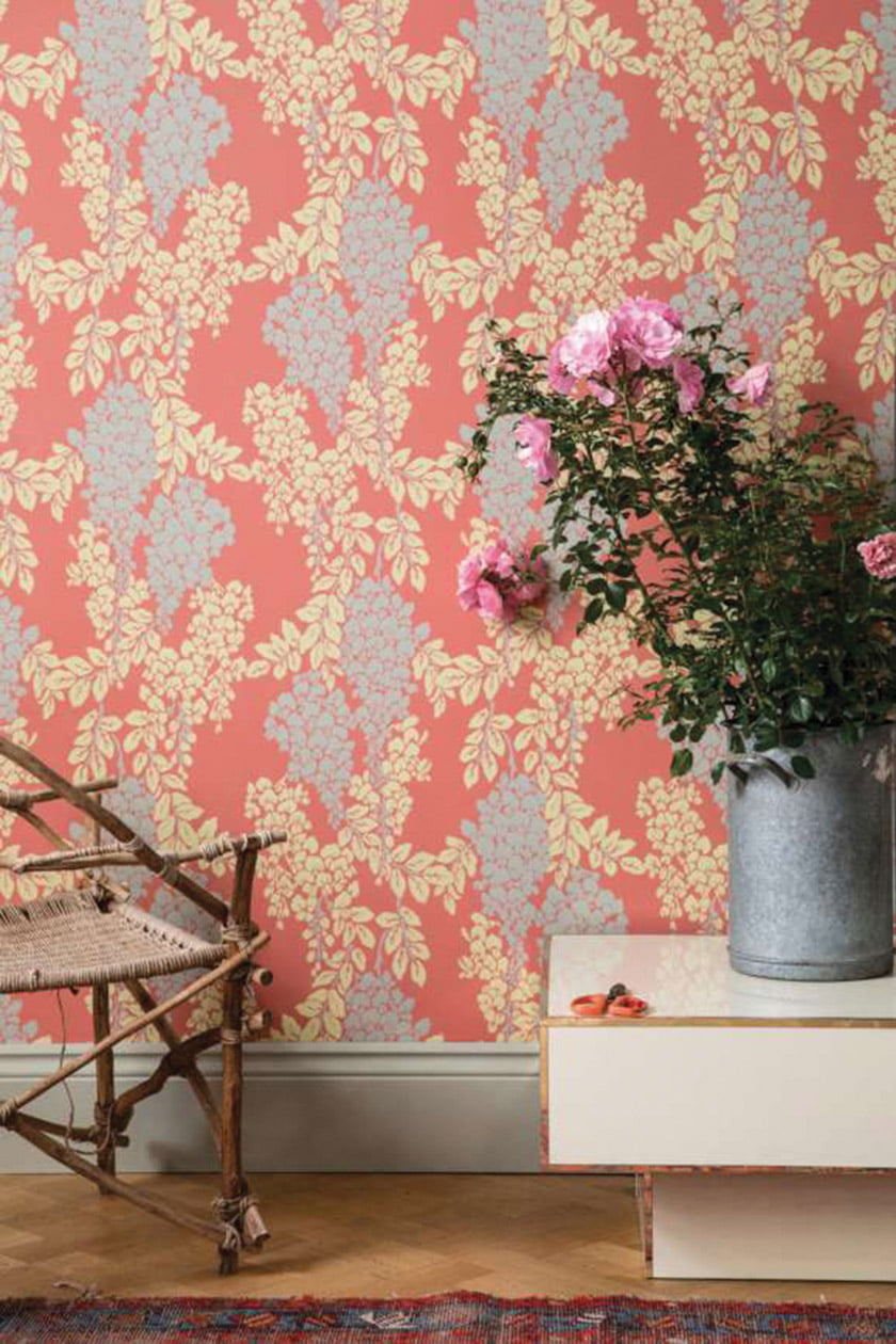 Resource for fabric & wall coverings: Farrow & Ball