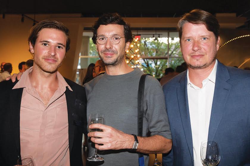 Andrew Seifarth, Romain Baty, Patrick Carter.