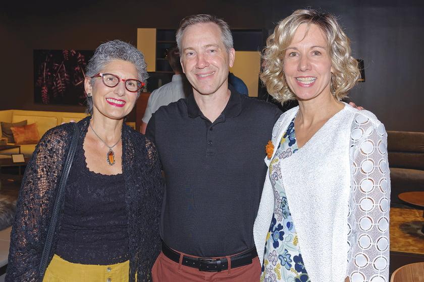 Lorena Checa, Scott Nash, Paula Checkosky.