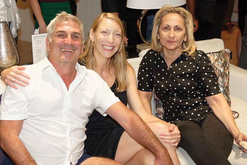 Brian Van Fleet, Elizabeth Bausch, Traci Miller.