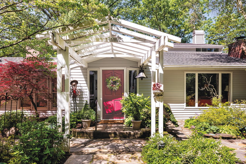 The Parkers have completed some 15 renovations on the home they've shared since 1974.