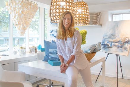 Interior designer Erin Paige Pitts offers a curated collection of home goods and original work by area artists. Photo © Geoffrey Hodgdon.