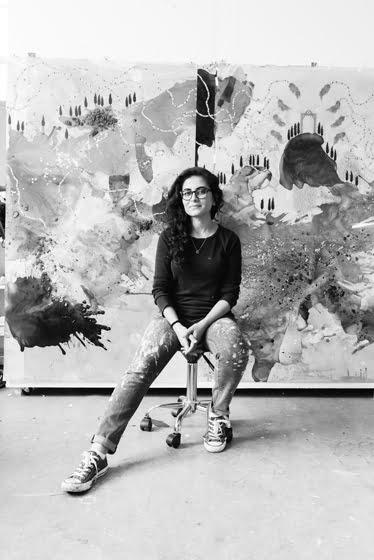 Hedieh Javanshir Ilchi in her Kensington studio. Portrait Matthew Kleinrock.