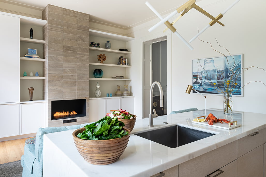 First Place: Before + After Kitchen Design: Jennifer Gilmer, CKD, Jennifer Gilmer Kitchen & Bath, Ltd.