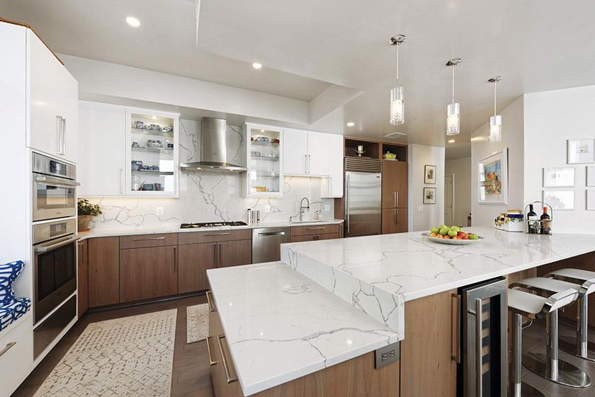 Kitchen Great Room in Reston Condo. © Bob Narod