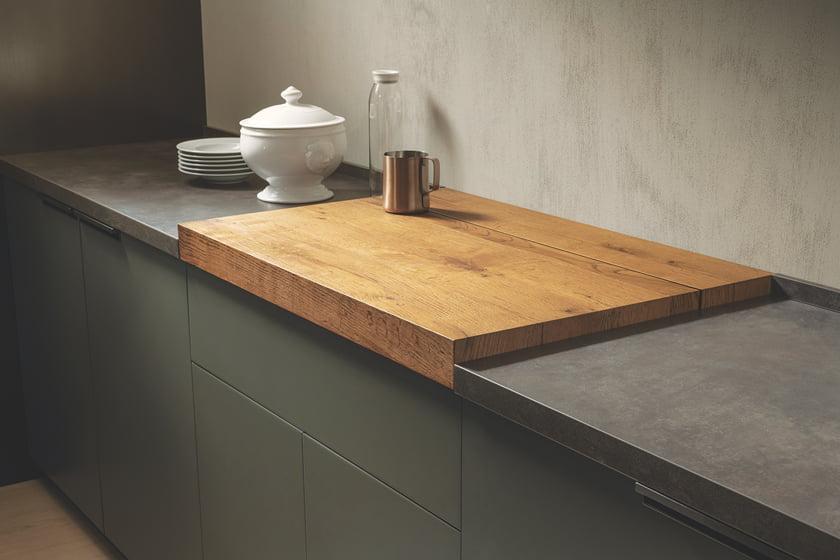 Scavolini's MIA kitchen system.