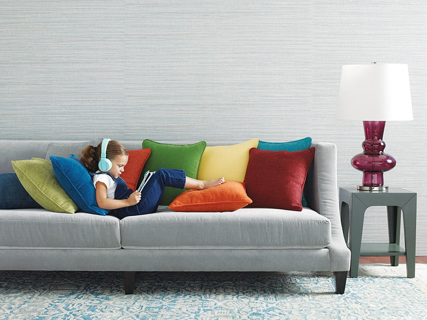Today's high performance fabrics, such as the KravetArmor collection (pictured), offer endless design possibilities.