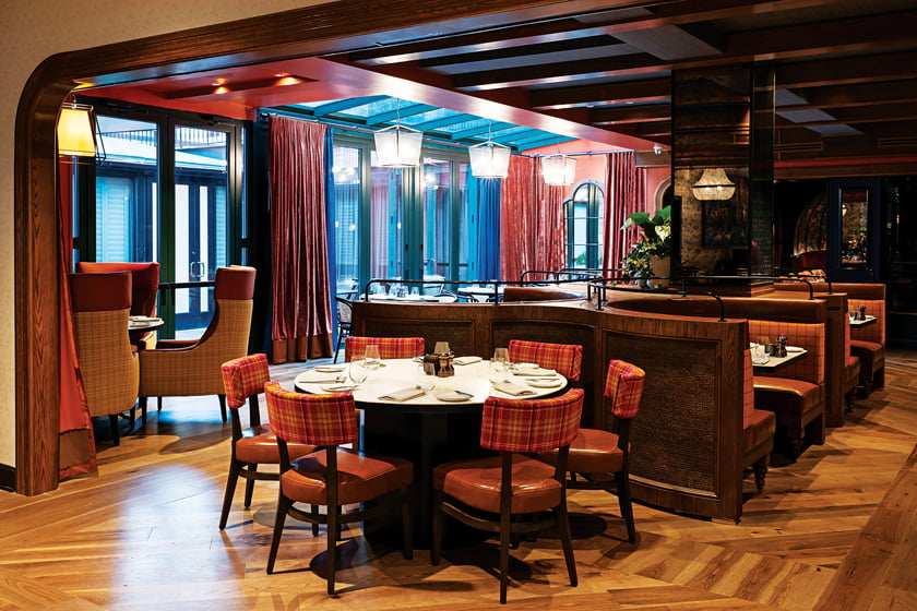 The main dining room of Brasserie Liberté. © Scott Suchman