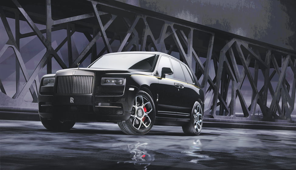 The Cullinan SUV from Rolls-Royce.