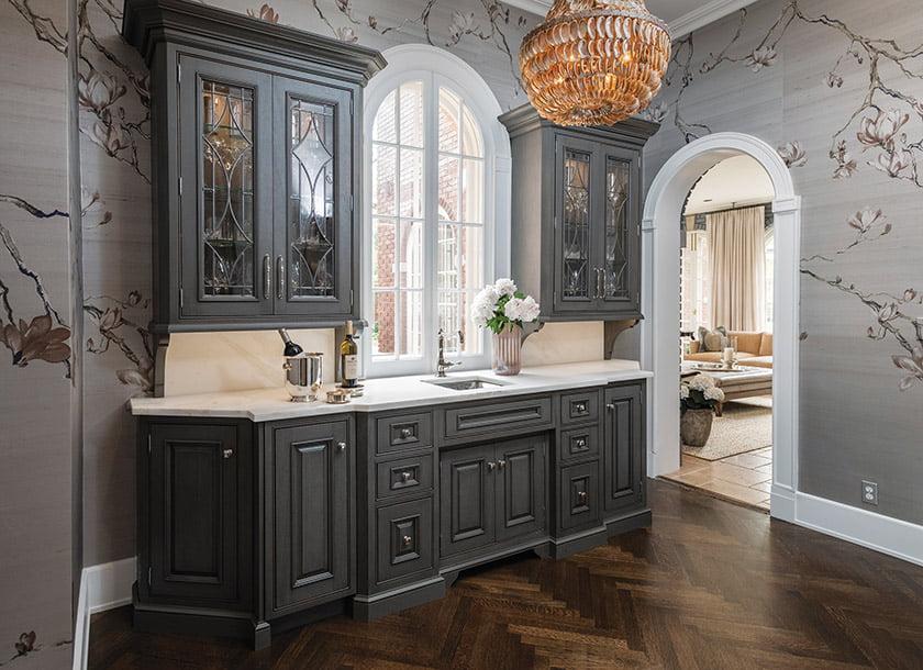 Delbert Adams Construction Group's Elegant Entertaining won for Kitchen Remodel $200,000–$400,000. © Whitney Wasson