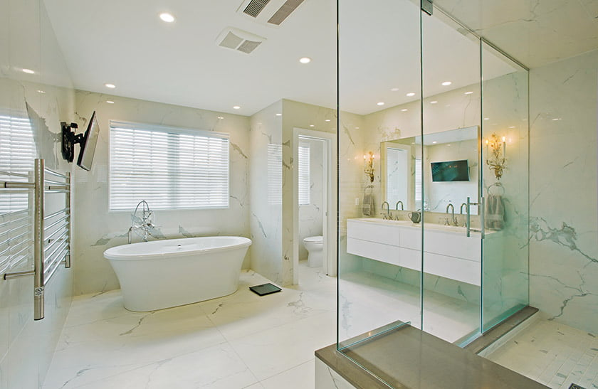 A project by Owings Brothers Contracting won for Whole House Renovation over $1 million. © Vince Lupo