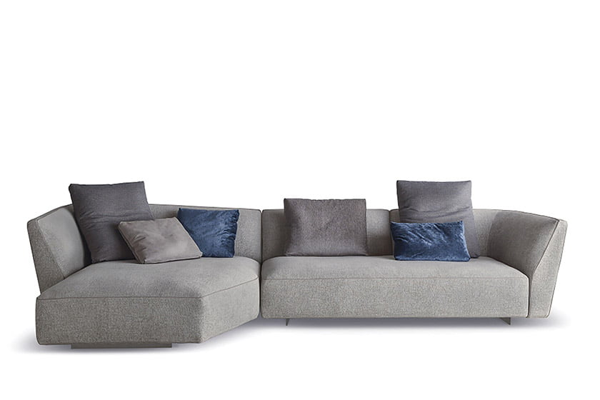 The Cloud sofa/sectional by Resource Furniture.