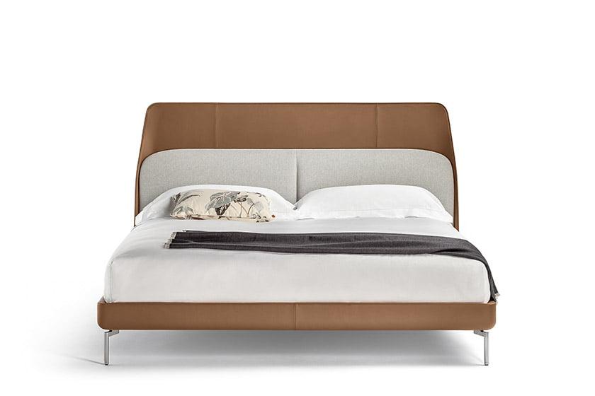 The Coupé bed by GamFratesi for Poltrona Frau.