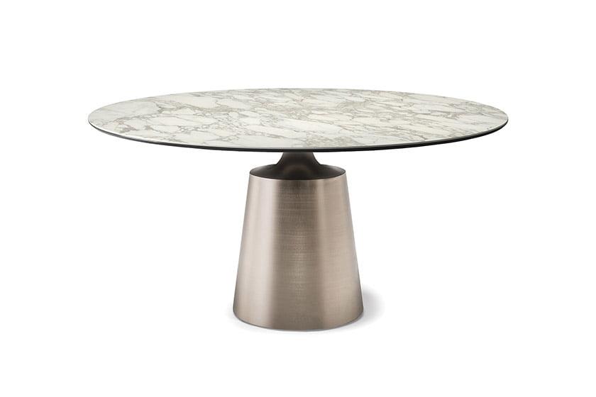The Yoda Keramik dining table by Paolo Catellan for Catellan Italia.