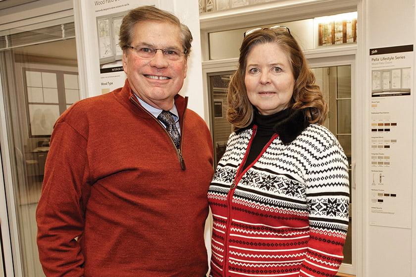 Richard Leggin, Linda Barrett.