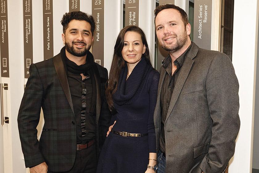 Arjun Chaudhary, Sandra Covey, Dan Covey.
