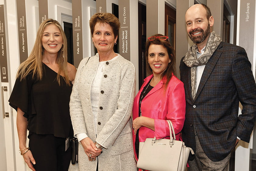 Sarah Armstrong, Stacy Hoffman, Francisca Alonso, Tony Alonso.